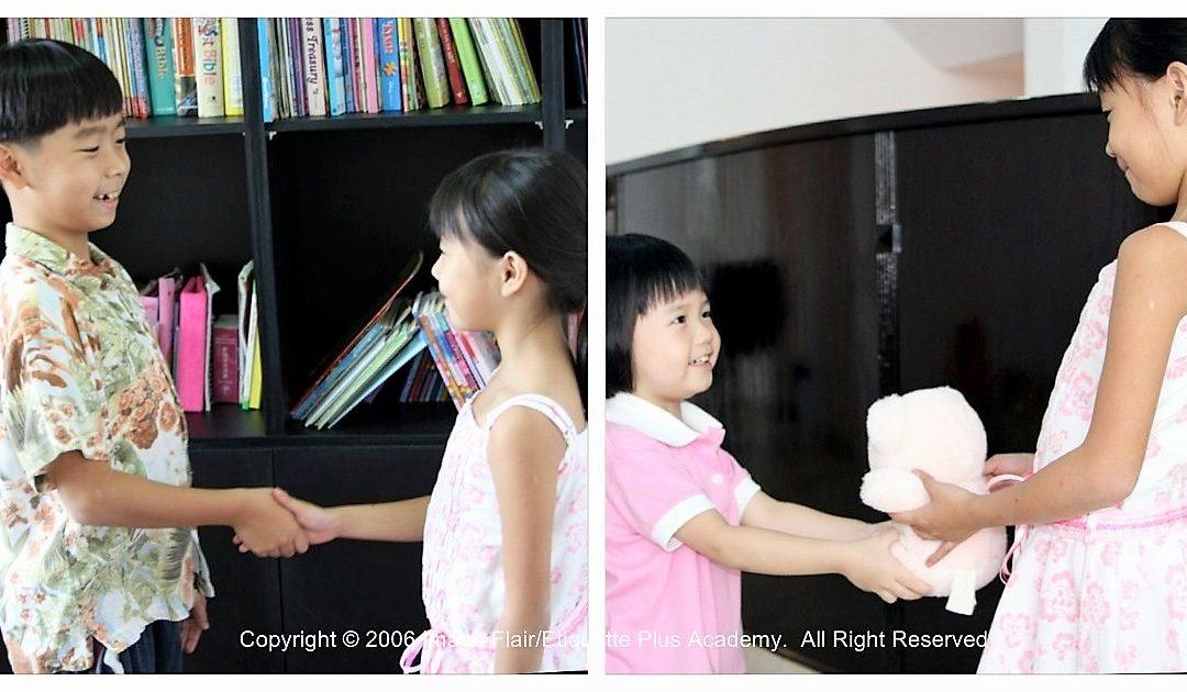 Teaching values to children